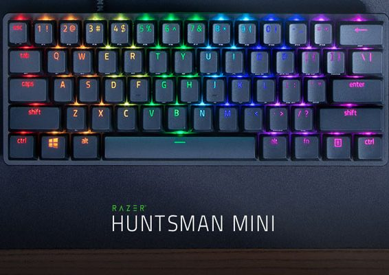 keyboards razer hunstman mini