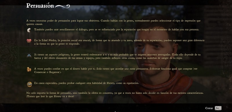kingdom come deliverance persuaison