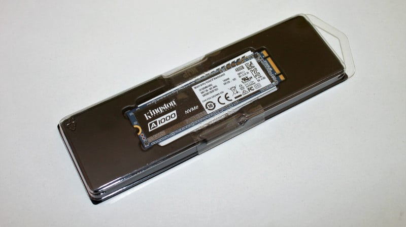 kingston a1000 caja frontal