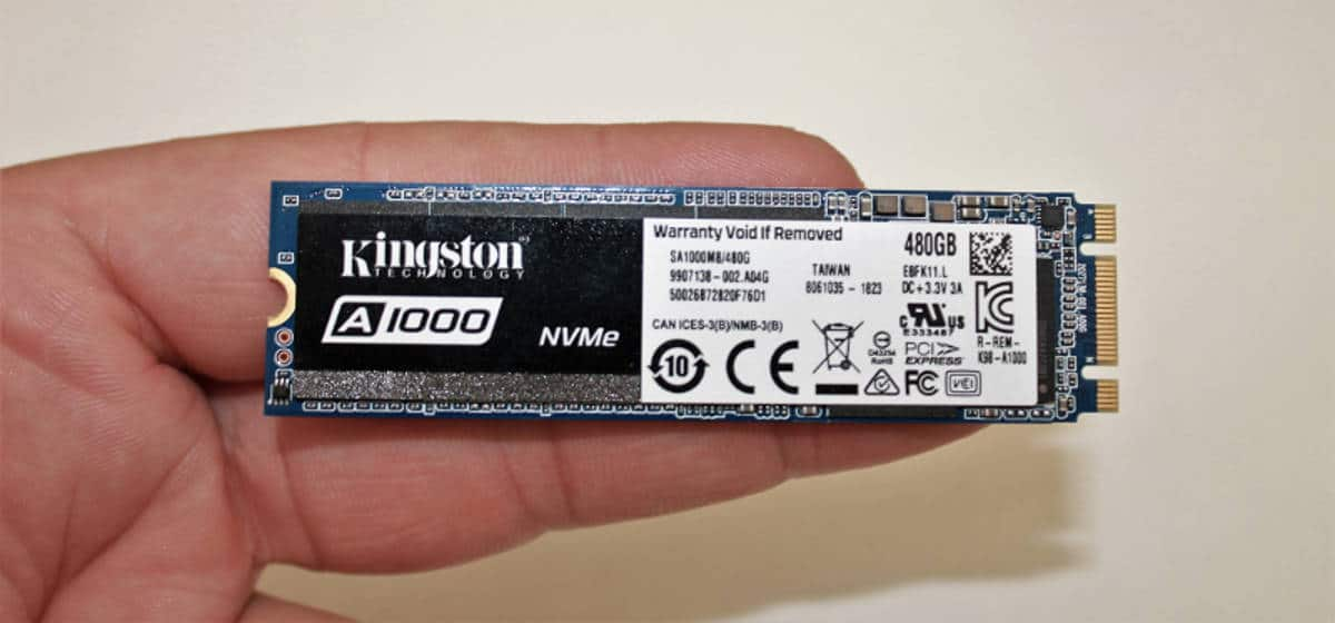 kingston a1000 mano