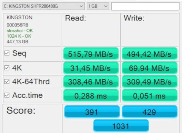 kingston hyperX fury rgb SSD ASS SSD 3