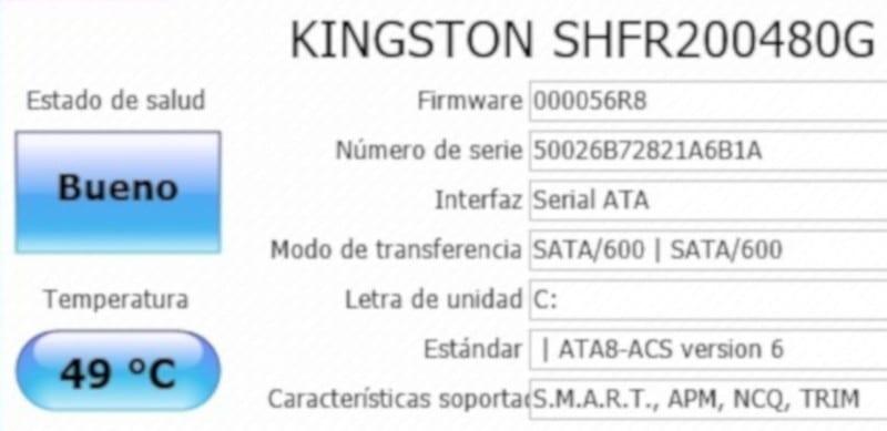 kingston hyperX fury rgb SSD crystal disk info1