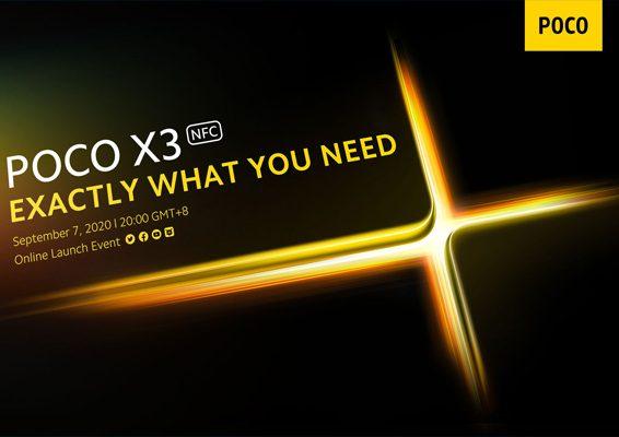 lanzamiento oficial poco x3 nfc