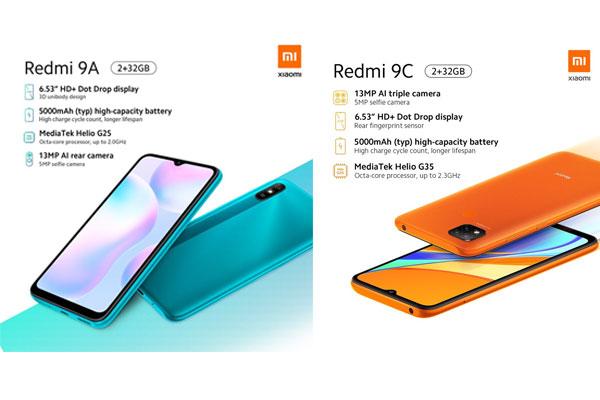 lanzamiento redmi 9A Redmi 9C 1