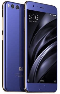 móvil chino Xiaomi Mi 6 dispositivo