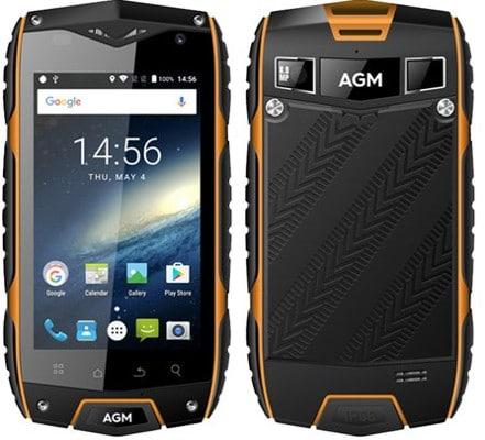 móvil de 4 pulgadas AGM A7