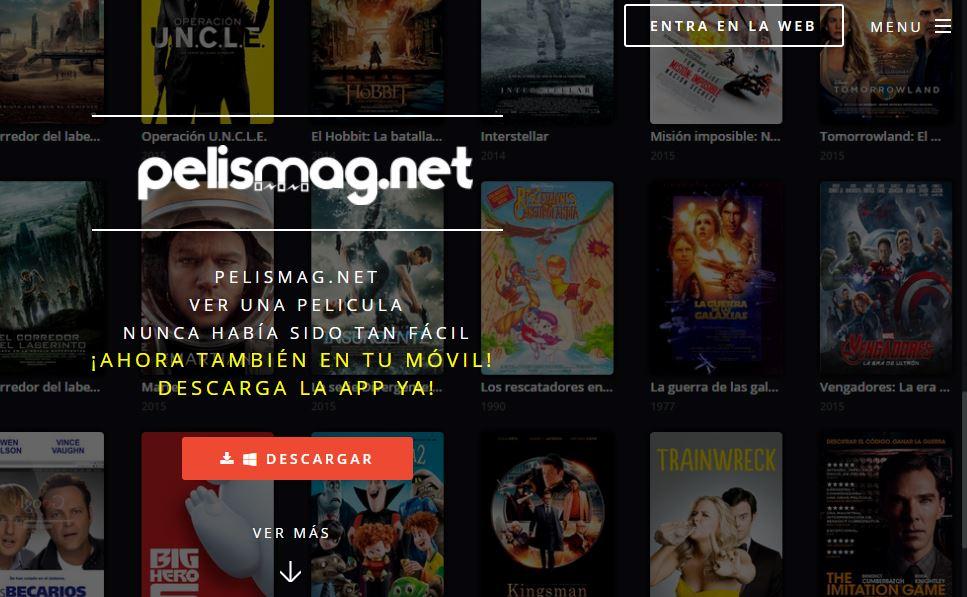 mejores paginas de peliculas gratis - pelismagnet