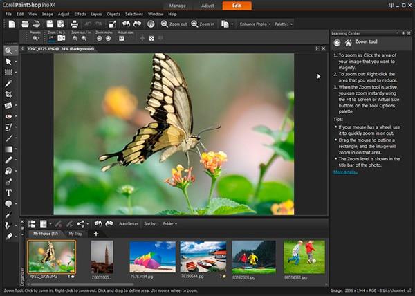 mejores-programas-de-diseño-grafico-Corel-PaintShop