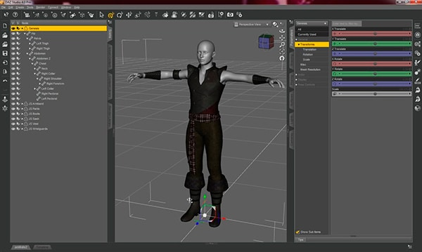 mejores-programas-de-diseño-grafico-Daz-Studio