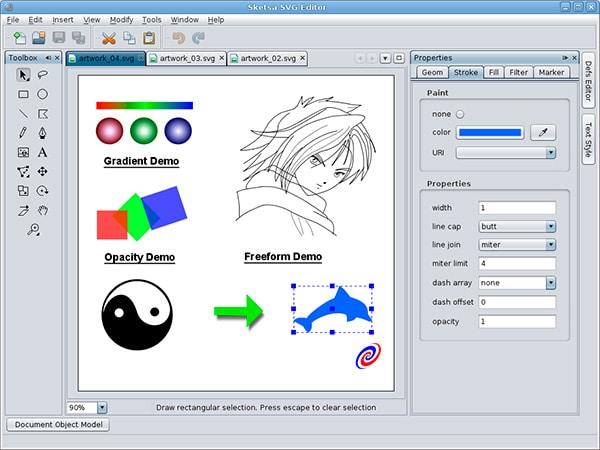 mejores-programas-de-diseño-grafico-Sketsa-SVG-Edit