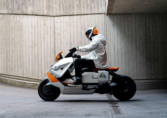 moto electrica futurista bmw ce04