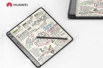 movil plegable de huawei