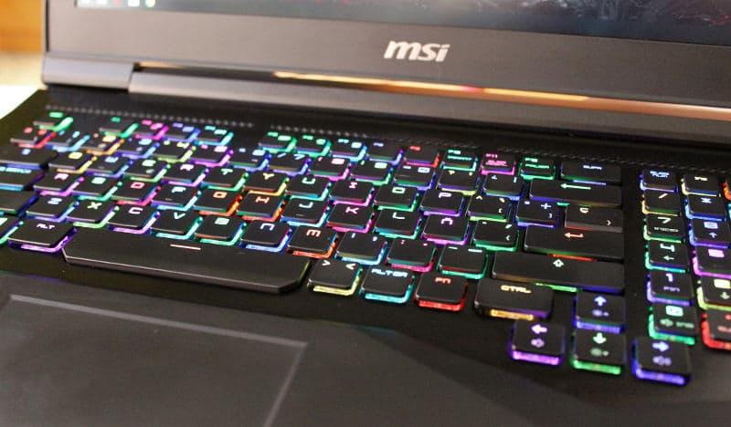 msi gt75vr 7rf teclado 2
