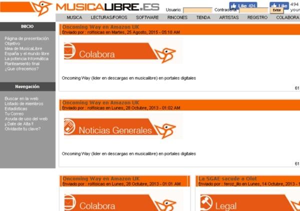 musica sin derechos de autor musicalibre.es