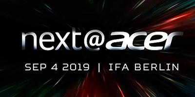 next acer ifa 2019 imagen destacada