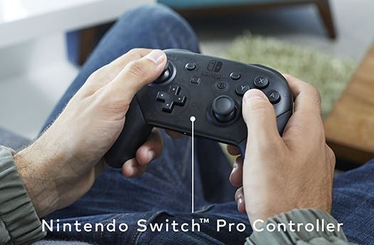 nintendo switch pro controller funciona en pc