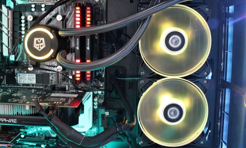 nox H-240 aura kit iluminacion