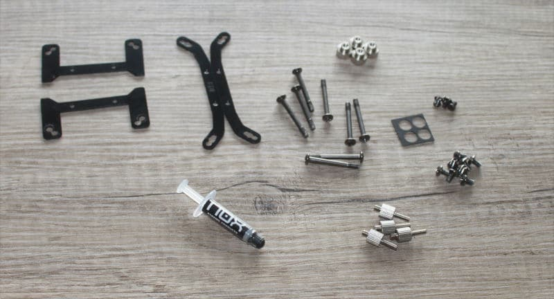 nox H-240 aura kit tornillos