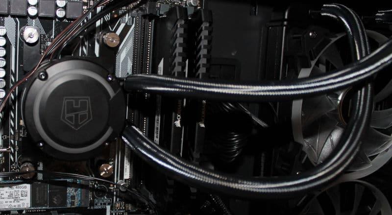 nox H-240 aura kit tubos