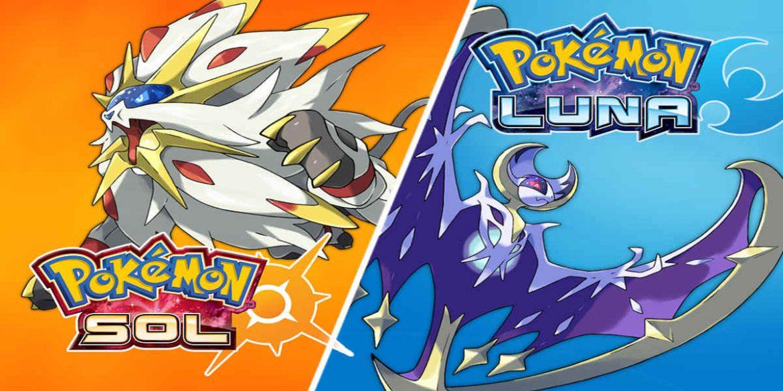 nueva actualización de Pokemon sol y luna