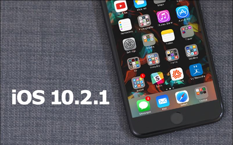 nueva actualizacion apple iOS 10.2.1