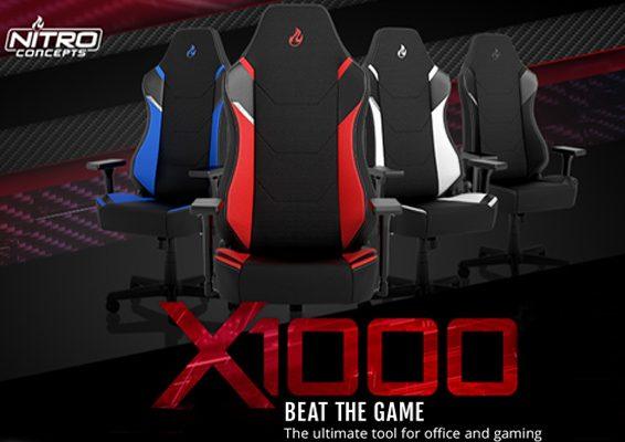 nueva silla gaming nitro concepts x1000