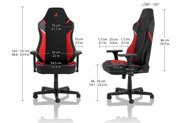 nueva silla gaming nitro concepts x1000 7
