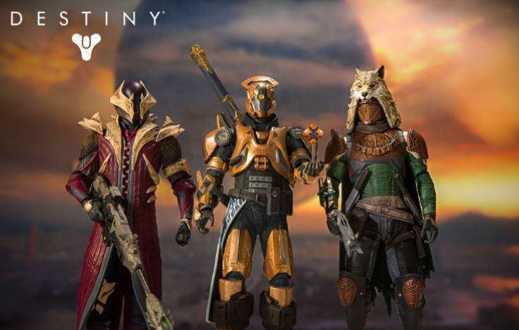 nuevas figuras de accion Destiny
