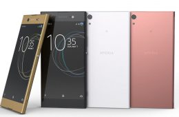 nuevos smartphones de sony xa1