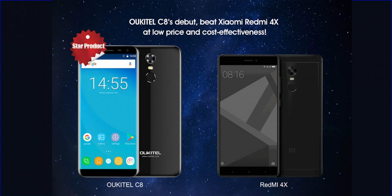 oukitel-c8-vs-xiaomi-redmi-4x