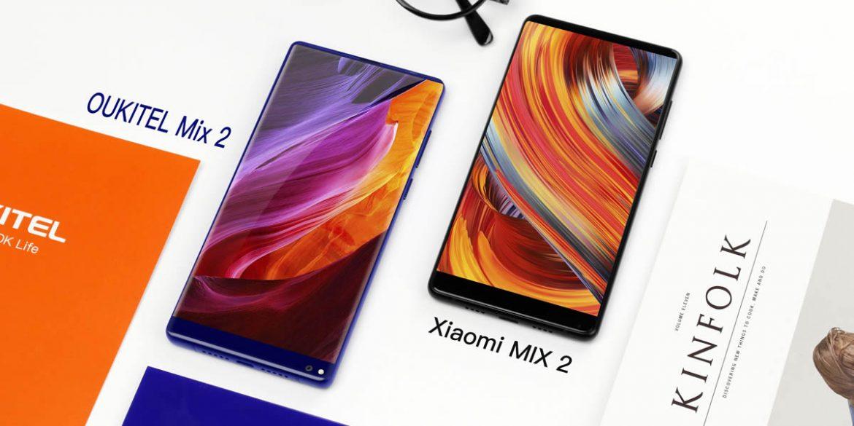 oukitel-mix-2-vs-xiaomi-mix 2