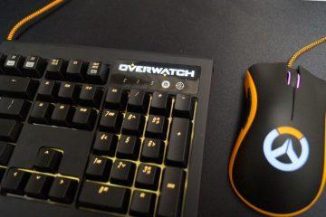 overwatch no acepta el juego sin controles en consola