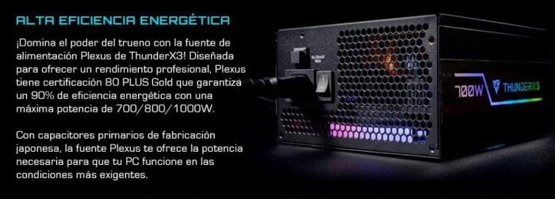 plexus thunderx3 bateria