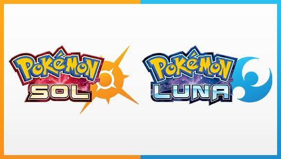 Pokémon sol y luna logo