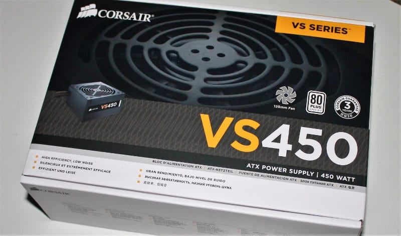 presupuesrto Corsair VS450