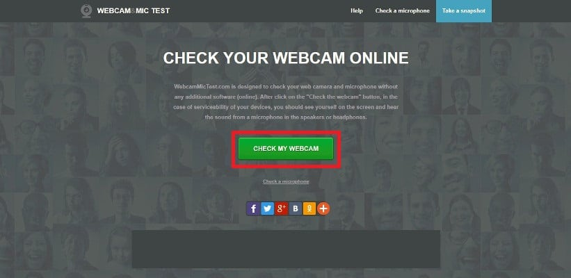 probar webcam online paso 2