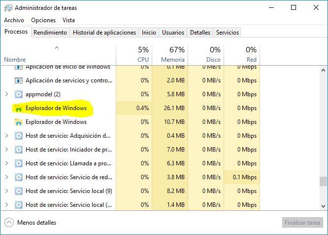 que hacer si el boton de inicio de windows 10 no funciona - 3