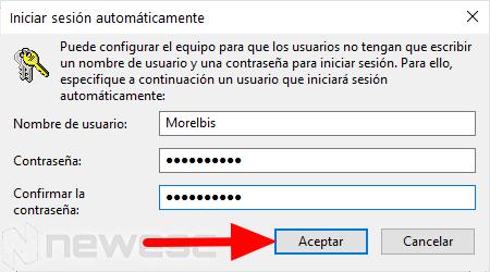 quitar contraseña Windows 10 2