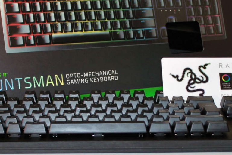 razer huntsman destcada