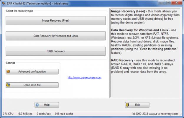 Recuperar datos y fotos de tarjeta SD - Zar