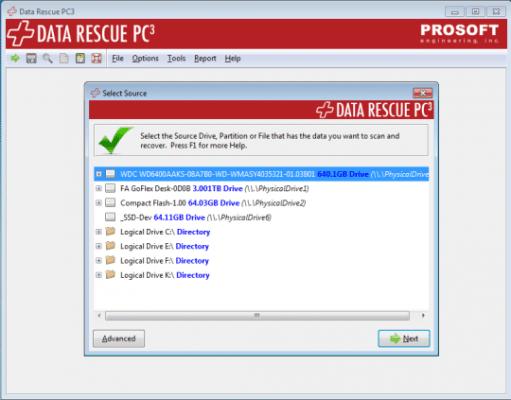 Recuperar datos y fotos de tarjeta SD - Data rescue