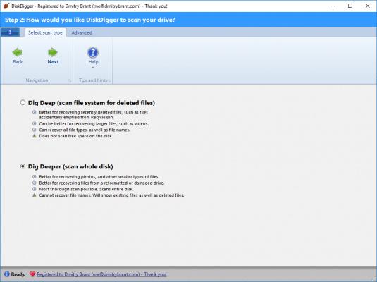 Recuperar datos y fotos de tarjeta SD - Disk digger