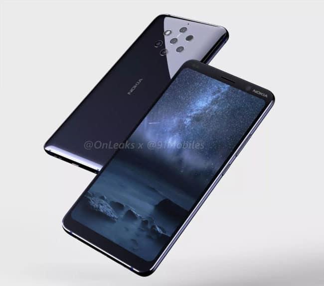renders filtrados Nokia 9