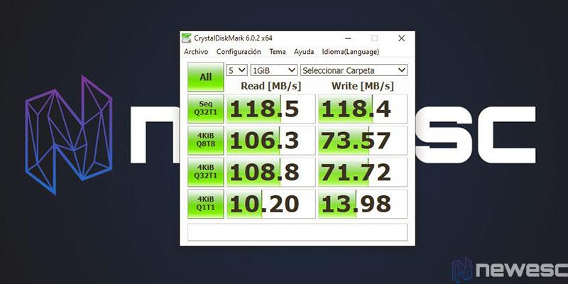 review Asustor Nimbustor 4 AS5304T cristal disk encriptado aes256