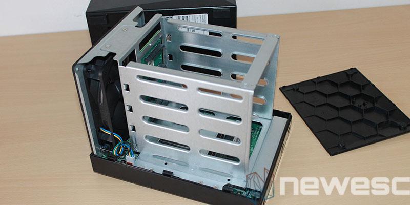 review Asustor Nimbustor 4 AS5304T montaje