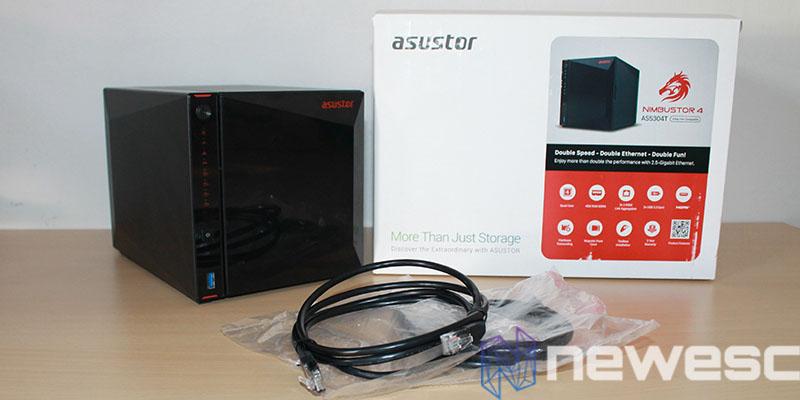review Asustor Nimbustor 4 AS5304T pack2