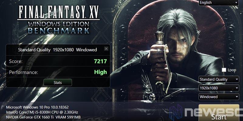 review acer nitro 5 final fantasy XV 1920x1080