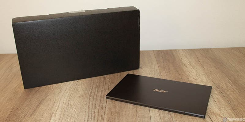 review acer swift 7 2019 caja y portatil