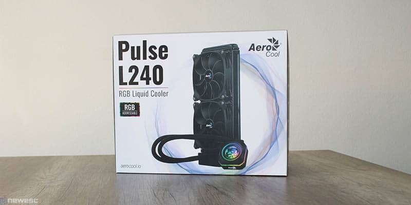 review aerocool pulse L240 caja