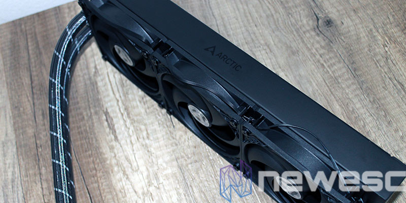 review artic freezer II 360 radiador grosor